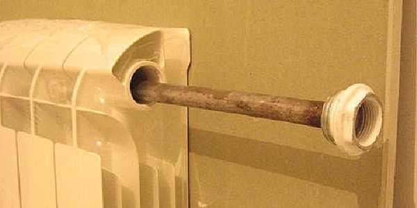 Удлинитель потока для радиатора отопления   грейпей