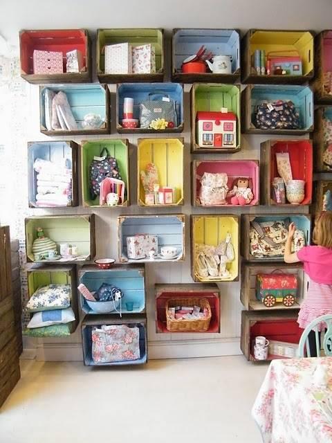 Короб или корзина для игрушек своими руками