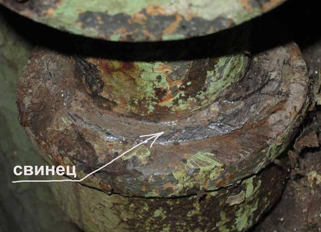 Чем заделать трещину в чугунной канализационной трубе - гидканал