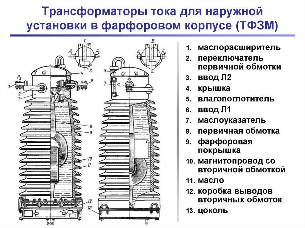 Подбор трансформатора тока - гост, пуэ, таблицы, формулы