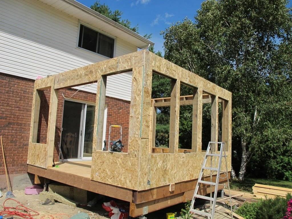 Пристроить террасу к дому: выбор проекта и строительство, пристраиваем террасу своими руками, особенности пристройки к деревянному дому