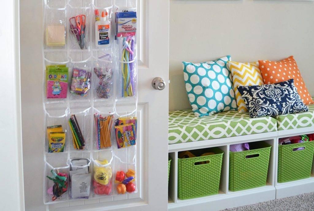 Идеи для хранения игрушек в детской комнате