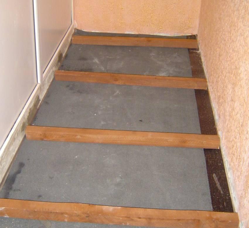 Как и чем залить пол на балконе своими руками пошаговая инструкция