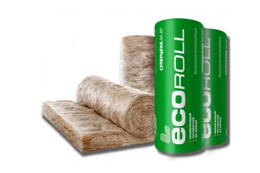 Характеристики и преимущества утеплителя ecoroll