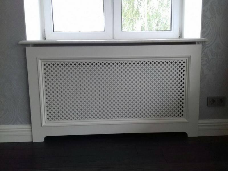 Декоративные экраны для радиаторов: типы и требования к ним