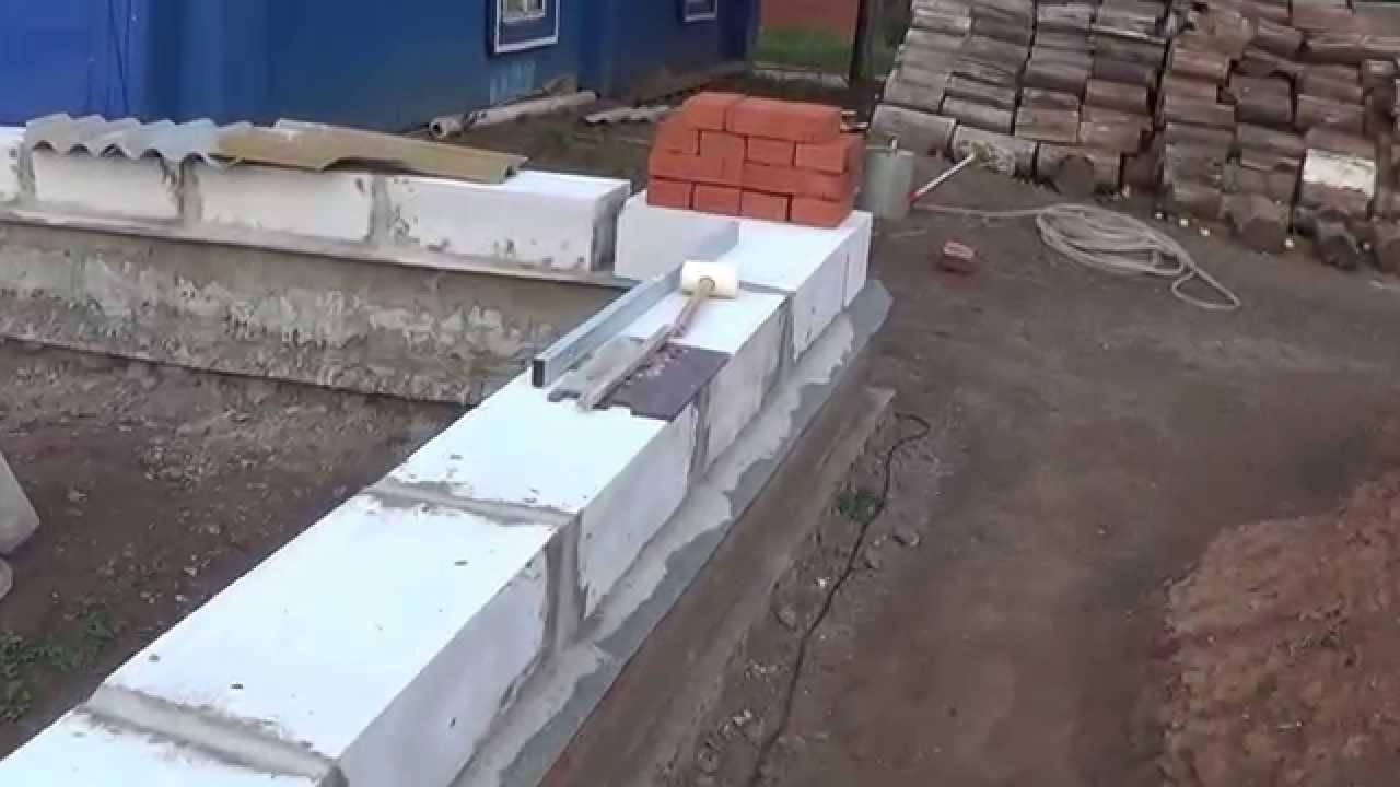 Сколько рядов кирпича нужно класть на фундамент? - о строительстве и ремонте простыми словами