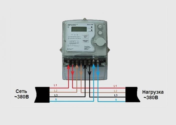 ⚠ виды трёхфазных счётчиков электроэнергии, нюансы выбора, подключение, обслуживание