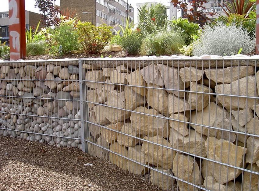 Забор из камня своими руками - каменный забор (+фото)