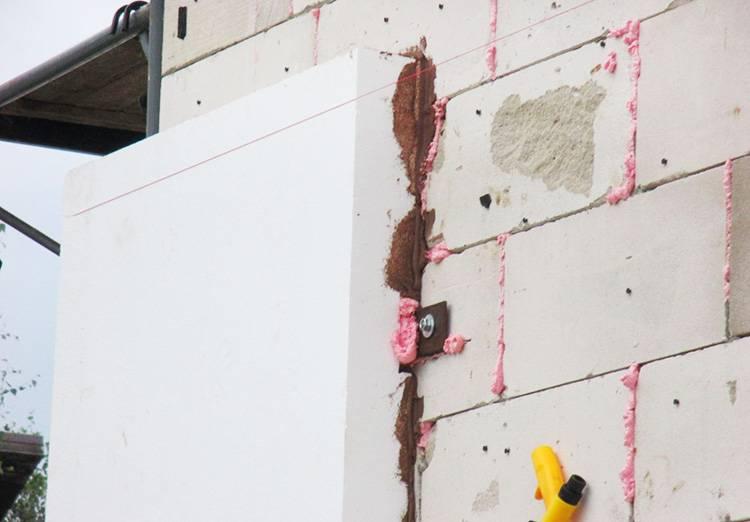 Утепление дома из газобетона: чем утеплить стены из пеноблоков и газобетона снаружи