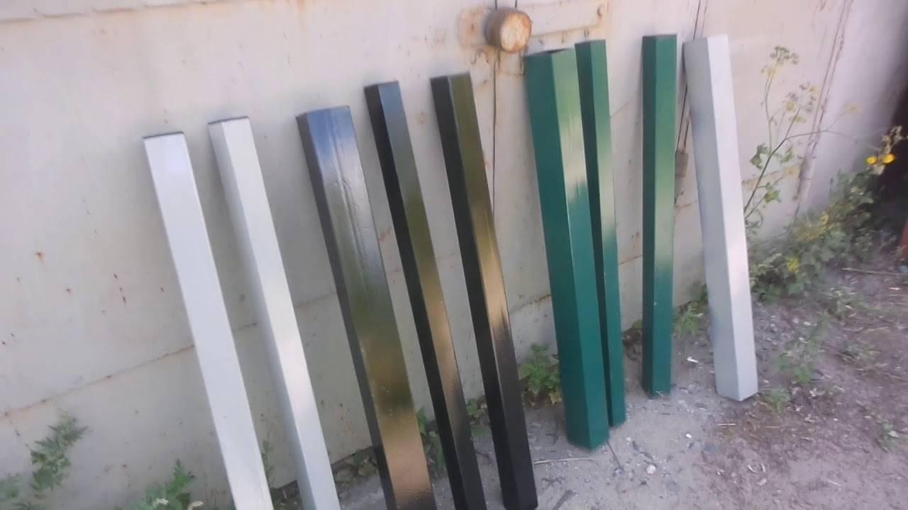 Какую краску выбрать для окрашивания металлического забора?