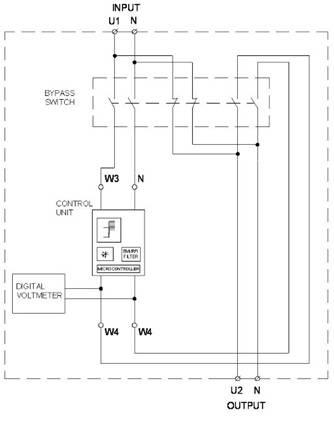 Стабилизатор напряжения: схема подключения, принцип работы, рекомендации по выбору, видео-инструкция по подключению в сеть своими руками