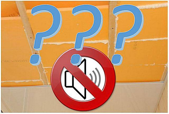 Пеноплекс звукоизоляция потолка - совместимы ли эти понятия?