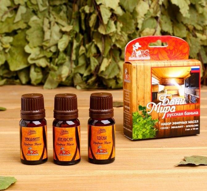Эфирные масла для бани: как правильно применять, польза и вред