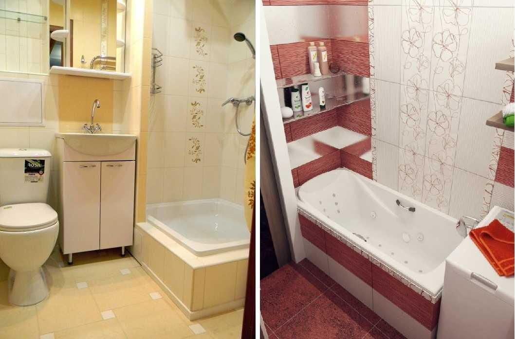 Дизайн и планировка ванной комнаты площадью 3 кв. метра: как уместить все необходимое
