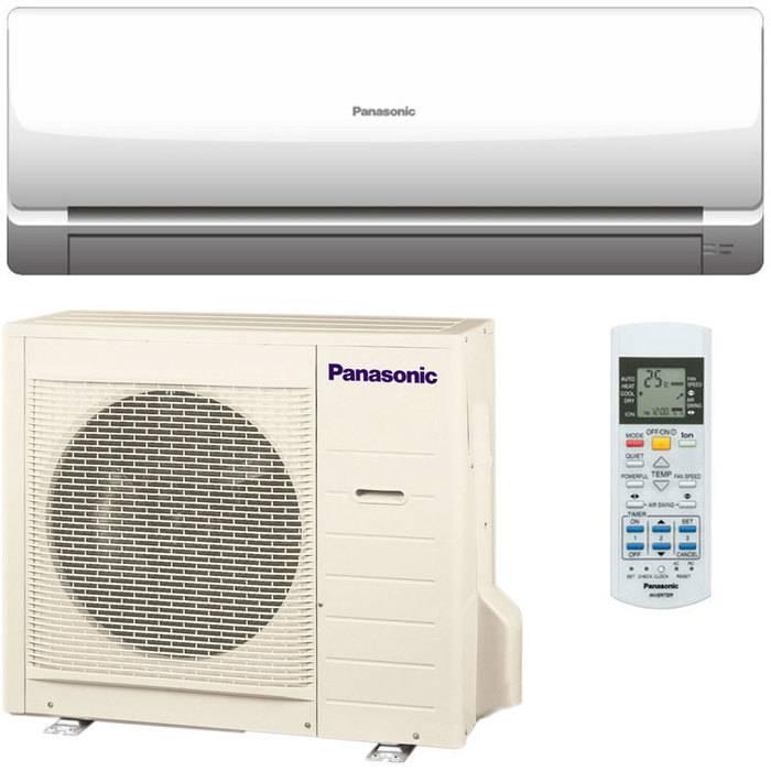 Обзор кондиционеров Panasonic: канальные, инверторные, кассетные, оконные и их блоки