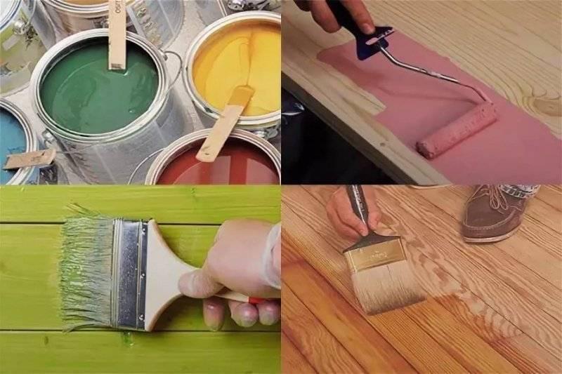 Как выполнить покраску деревянных дверей
