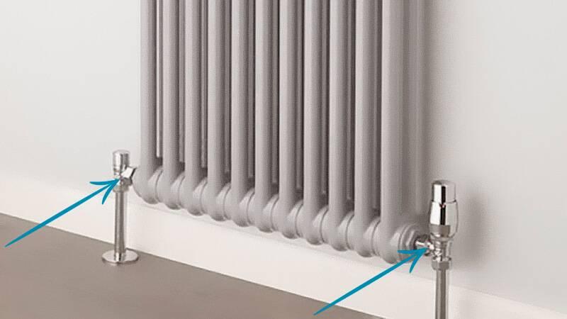 Какая схема подключения батареи отопления лучше – варианты и способы подключения, преимущества и недостатки
