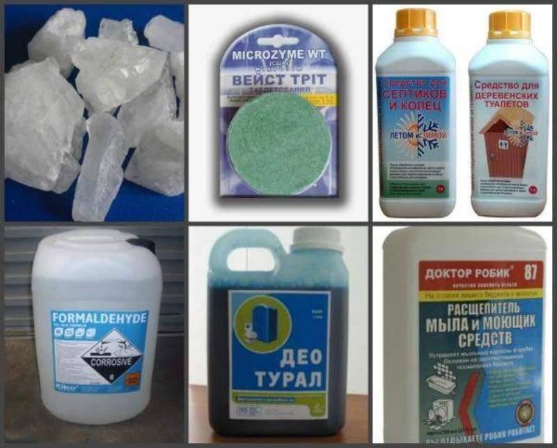 Очистка выгребной ямы каустической содой   все о септиках