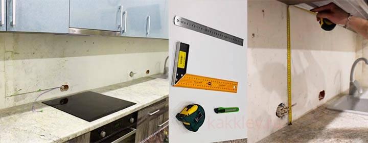 Укладка фартука из плитки на кухне самостоятельно - подробная инструкция
