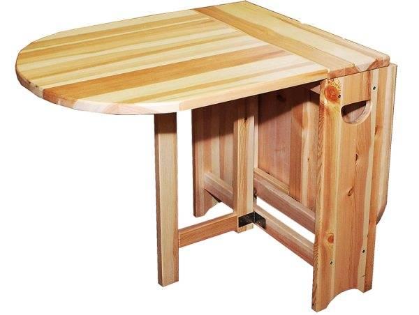 Стол из бруса: 3 варианта с инструкциями по изготовлению