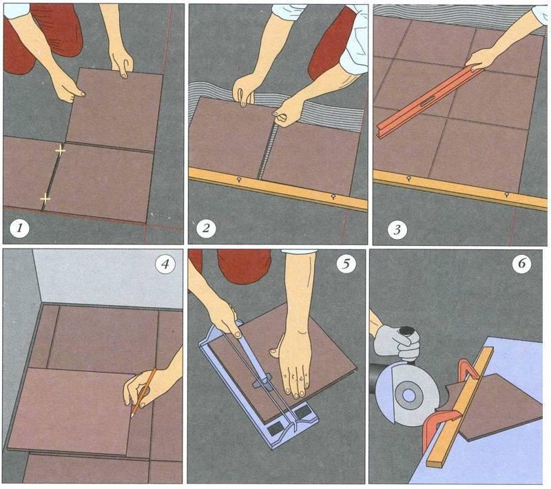 Можно ли класть плитку на плитку: способы реализации монтажа