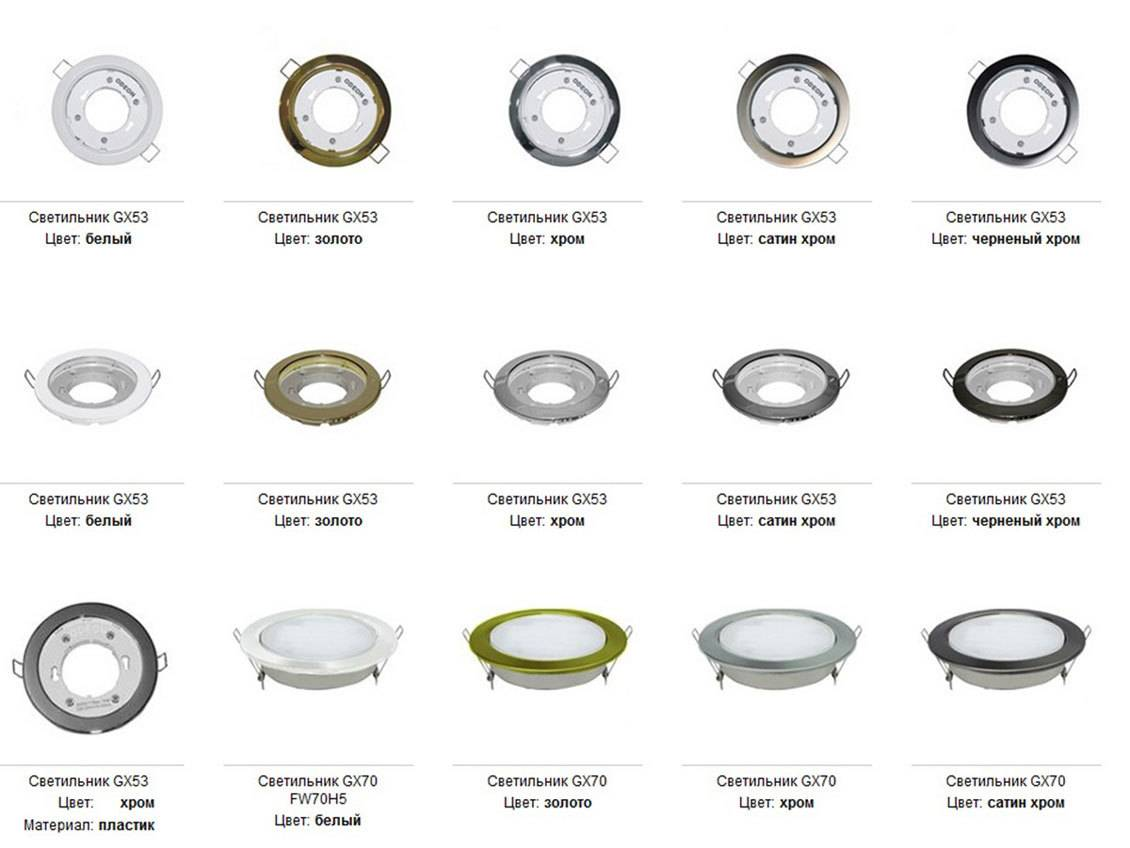 Светодиодные точечные светильники: выбор, расчет количества и схемы подключения