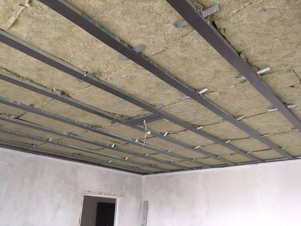 Звукоизоляция потолка в квартире: как сделать шумоизоляцию под натяжным потолком