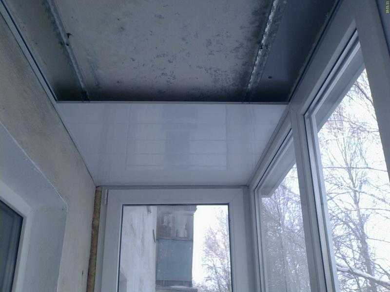 Потолок на балконе своими руками - из пвх панели, гипсокартона, натяжного потолка (+фото) | стройсоветы