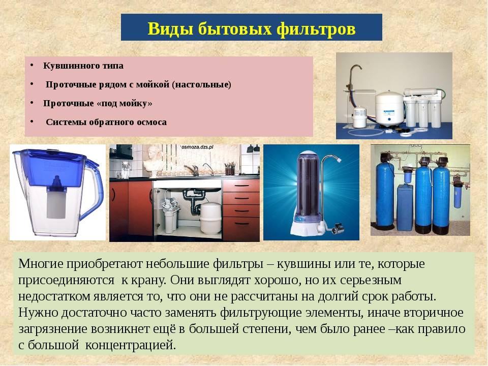 Способы чистки фильтров для воды: очистка от налета