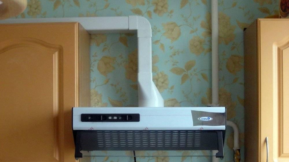 Как правильно сделать вентиляцию на кухне с вытяжкой