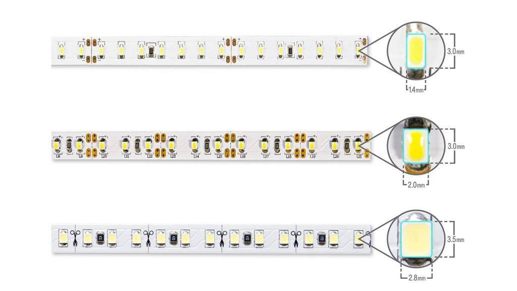Самая яркая светодиодная лента: обзор мощных лед лент, рейтинг лучших производителей