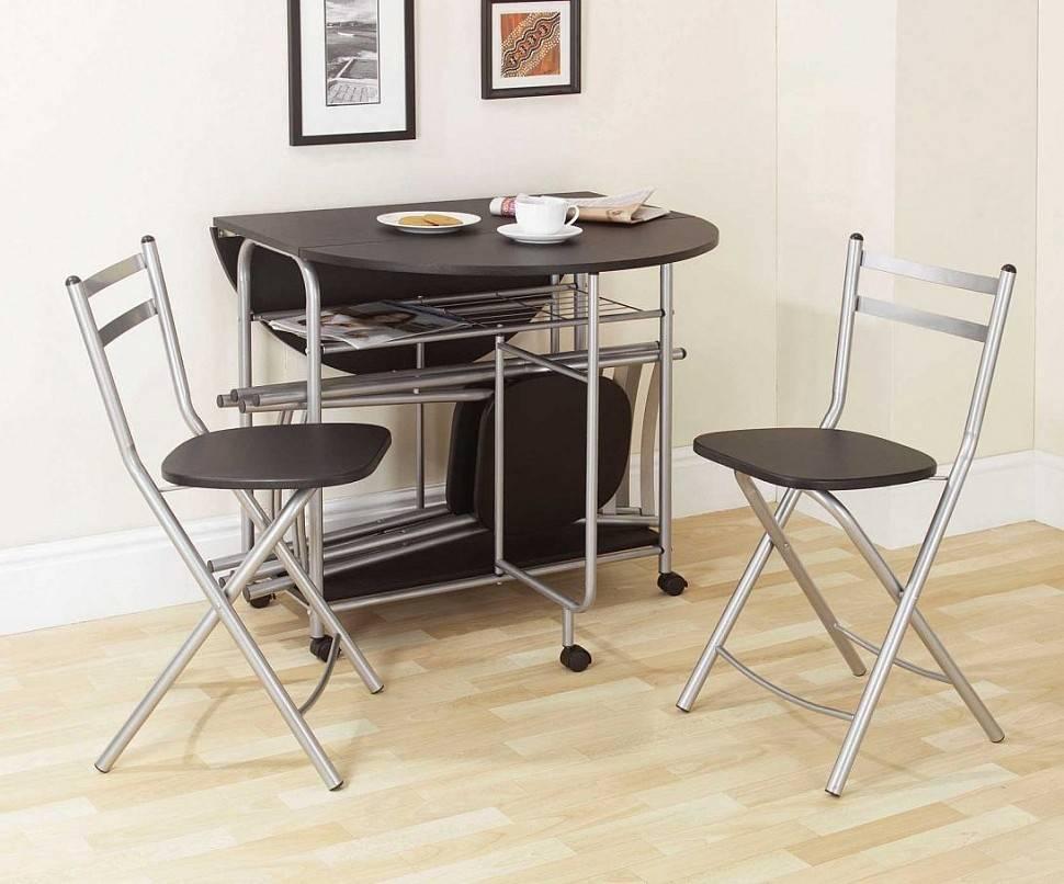 Раскладные столы в интерьере кухни – максимум пространства и функционала