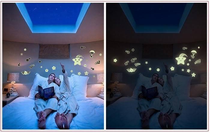 Решили сделать светящиеся стены: выглядит круто, а мужу не нравится!