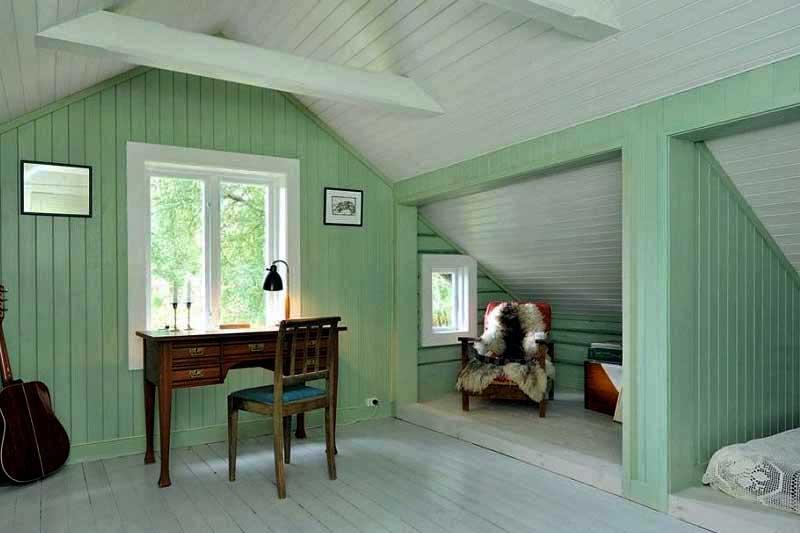 Покрасить вагонку в нутри дома: чем красить, в какой цвет, идеи