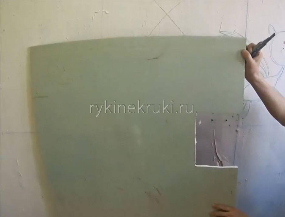 Чем резать гвл листы в домашних условиях: раскрой гипсоволокна (видео)