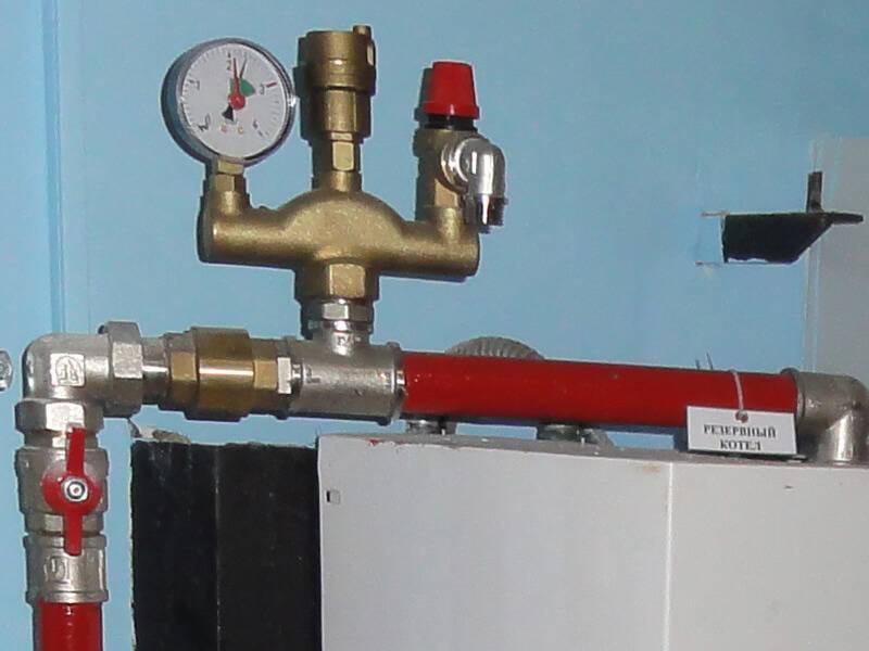 Установка группы безопасности в закрытую систему отопления   всё об отоплении