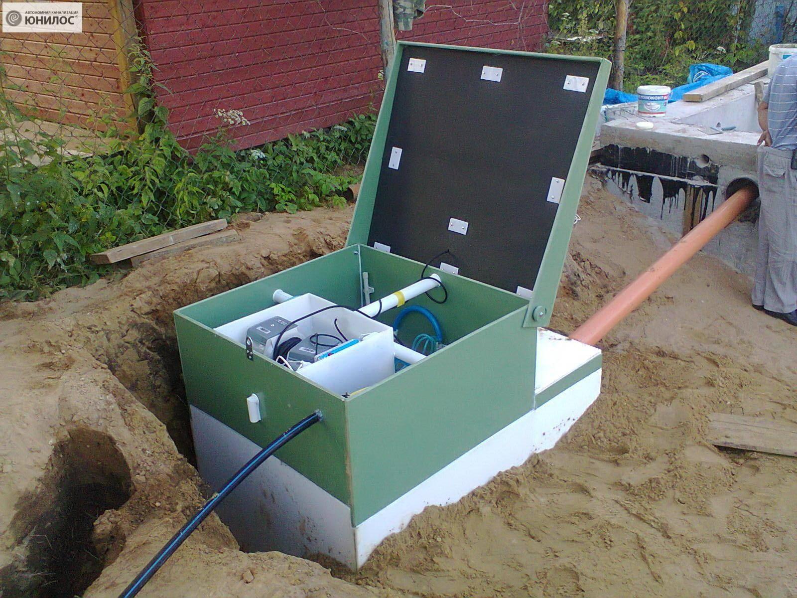 Автономная канализация для загородного дома - как она работает, схема установки