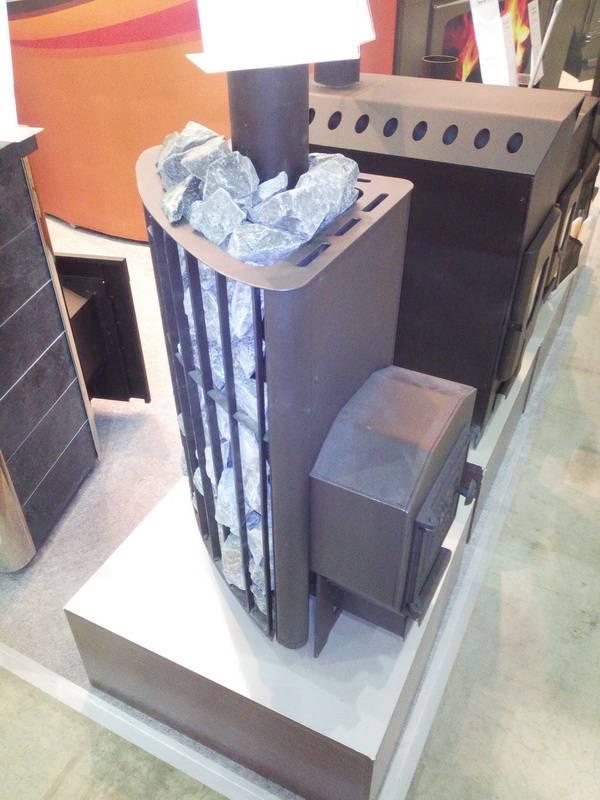 Печь для бани варвара: мини с теплообменником или баком для воды, каменка, поленница, с дверцей-панарамой, недостатки банных печек