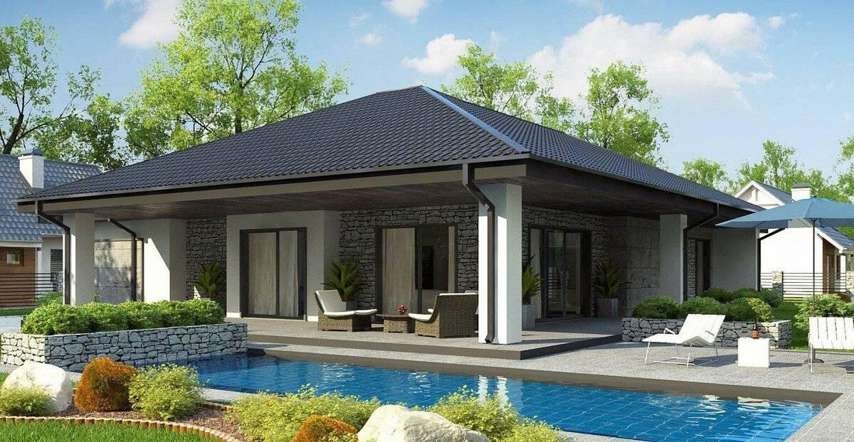 Обзор проектов одноэтажных домов площадью 70 кв. м