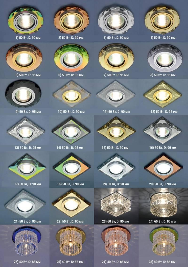 Какие светильники лучше для натяжного потолка: только лучшие варианты!