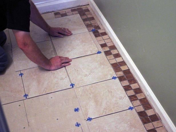 Инструкция по укладке плитки на пол в ванной