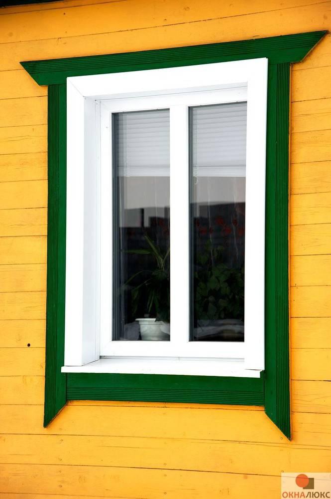 Наличники на пластиковые окна: отделка окон пластиковыми наличниками
