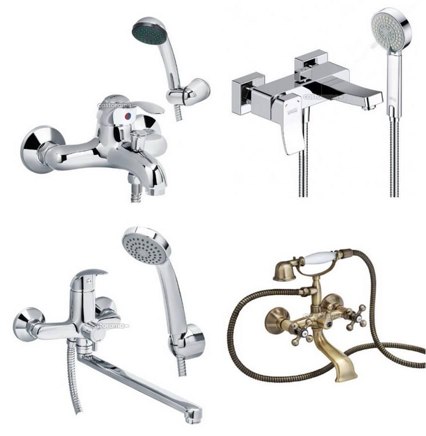 Виды смесителей для ванной и кухни. как и какой выбрать?