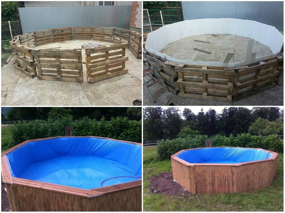 Как построить бассейн на даче или во дворе: пошаговая инструкция по обустройству бассейна из готовой чаши