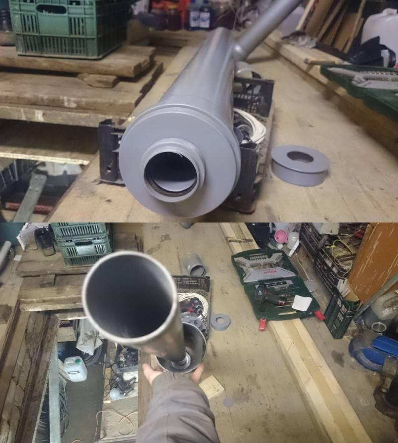 Вентиляция из пластиковых канализационных труб