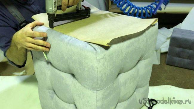 Как сделать пуфик своими руками — пошаговая инструкция и основные варианты как построить пуф (100 фото)