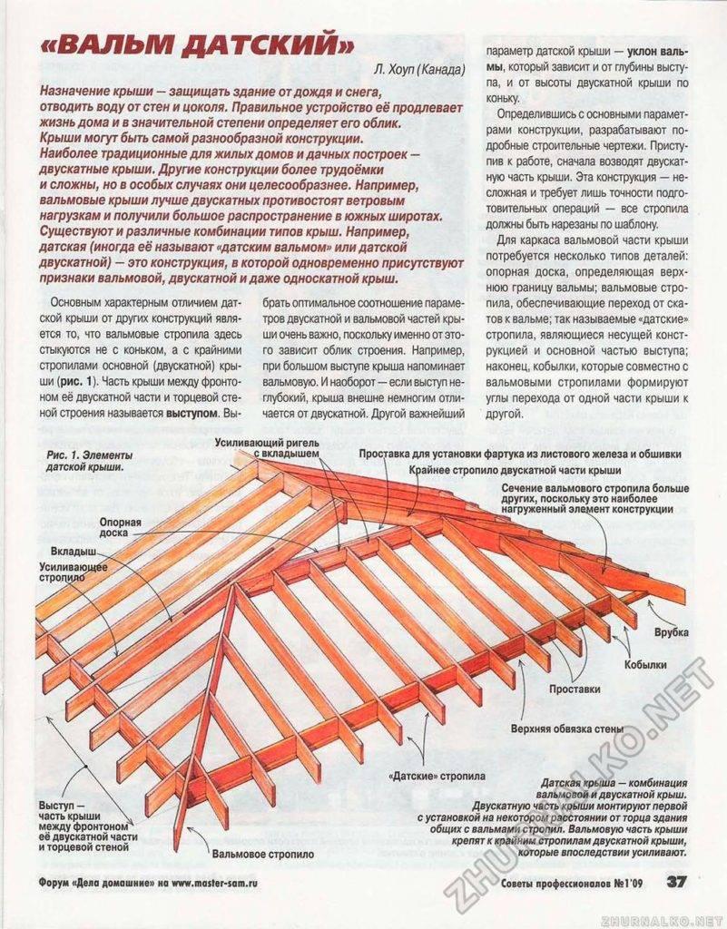 Четырехскатная крыша – расчет размеров, описание конструкции и ее установка (90 фото)