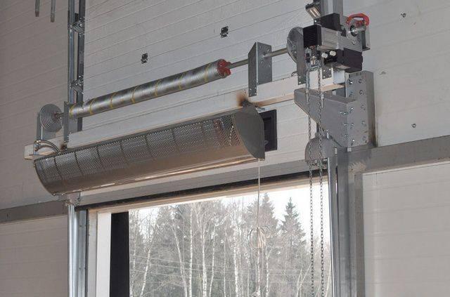 Тепловые завесы для входной двери: принцип работы и правила монтажа, особенности и критерии выбора моделей
