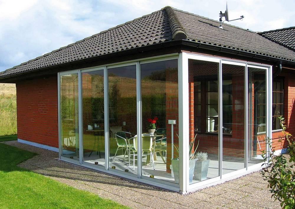 Как правильно выбрать окна для террасы в частном доме