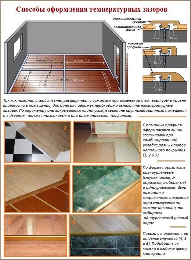 Укладка ламината на деревянный пол: как положить ламинат самому